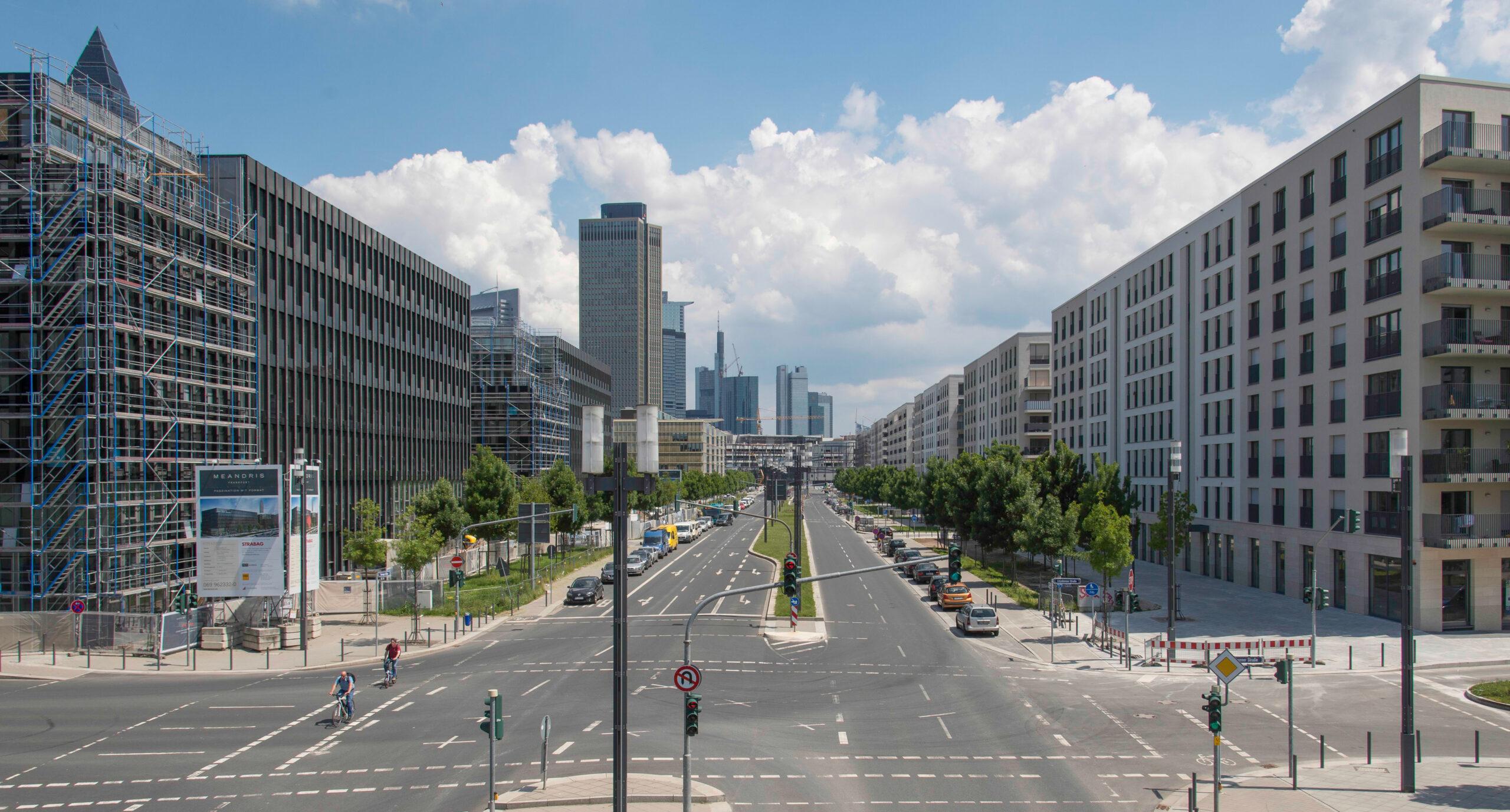 Europaviertel Kreuzung